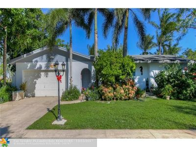 Plantation Single Family Home For Sale: 6221 SW 15th St
