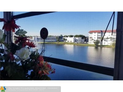Lauderhill Condo/Townhouse For Sale: 4751 NW 21st St #314