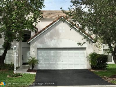 Coral Springs Single Family Home For Sale: 7764 Hibiscus Ln
