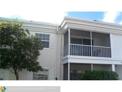 Fort Lauderdale Condo/Townhouse For Sale: 6309 Bay Club Dr #3