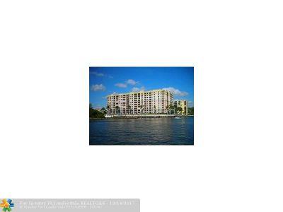 Pompano Beach Condo/Townhouse For Sale: 2880 NE 14th Street Cswy #602