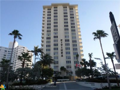Condo/Townhouse For Sale: 3550 Galt Ocean Dr #804
