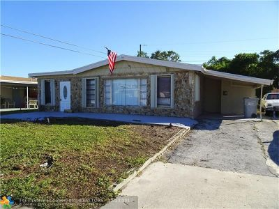 Pompano Beach FL Single Family Home For Sale: $239,900