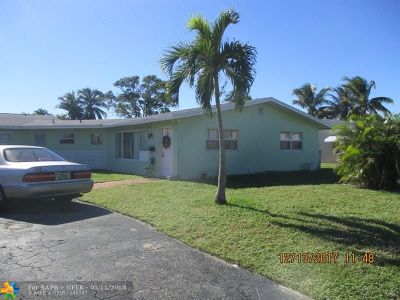 Pompano Beach Multi Family Home For Sale: 1501 SW 3rd Ave