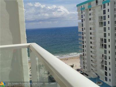 Pompano Beach Condo/Townhouse For Sale: 1000 S Ocean Blvd #15G