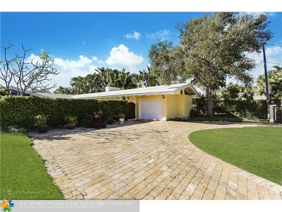 Lauderdale By The Sea Single Family Home For Sale