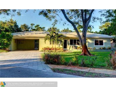 Wilton Manors Single Family Home Backup Contract-Call LA: 617 NE 21st Ct