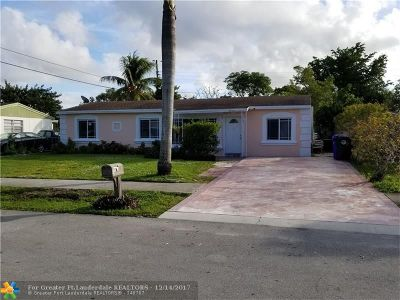 North Lauderdale Single Family Home Backup Contract-Call LA: 6410 SW 15th Ct