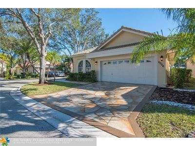 Coral Springs Single Family Home For Sale: 5056 NW 95th Dr