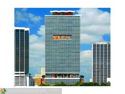 Miami Condo/Townhouse For Sale: 50 Biscayne Blvd #2105