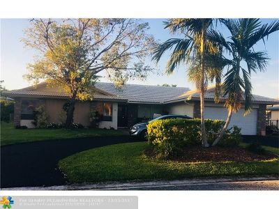 Coral Springs Single Family Home For Sale: 2074 NW 102nd Ter
