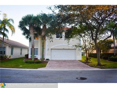 Coral Springs Single Family Home Backup Contract-Call LA: 5561 NW 124th Ave