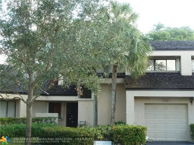 Plantation Condo/Townhouse Backup Contract-Call LA: 9265 Chelsea Dr N #9265