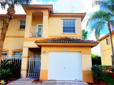 Broward County, Collier County, Lee County, Palm Beach County Rental For Rent: 746 NW 170th Ter #746