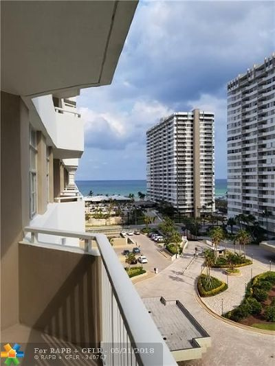 Hallandale Condo/Townhouse For Sale: 1965 S Ocean Dr #8P