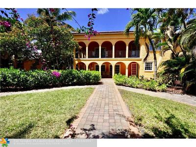 West Palm Beach Single Family Home For Sale: 520 27th St