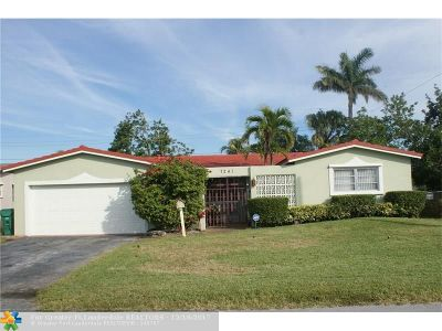 Miramar Single Family Home Backup Contract-Call LA: 7241 Dilido Blvd