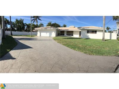 Deerfield Beach Single Family Home For Sale: 1201 SE 12th Ter