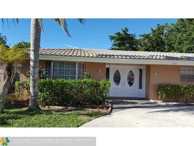 Coral Springs Single Family Home For Sale: 7518 NW 42nd Dr
