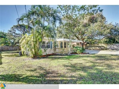 Fort Lauderdale Single Family Home For Sale: 1820 SW 11th Ct