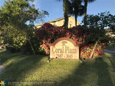 Coral Springs Condo/Townhouse For Sale: 2949 Riverside Dr #227
