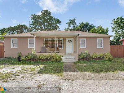 Miami Single Family Home Backup Contract-Call LA: 1136 NW 102nd St