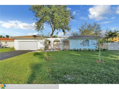 Coral Springs Single Family Home For Sale: 3871 NW 99th Ave