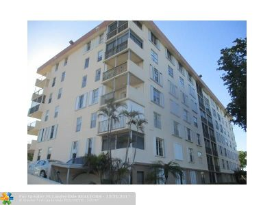 Broward County Condo/Townhouse For Sale: 6000 NE 22nd Way #7F