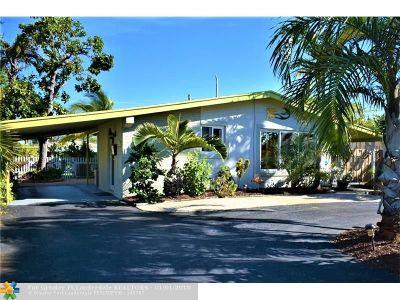 Oakland Park Single Family Home For Sale: 4420 NE 13th Ave