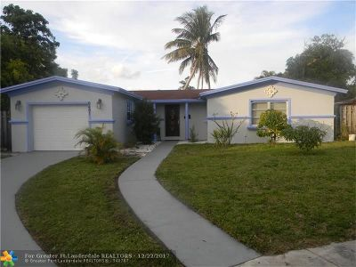 North Lauderdale Single Family Home Backup Contract-Call LA: 6491 SW 7th Pl
