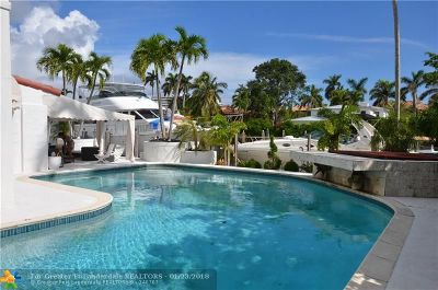 Fort Lauderdale Rental For Rent: 500 W Royal Plaza Drive