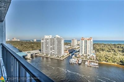 Fort Lauderdale Condo/Townhouse For Sale: 936 Intracoastal Dr #19C