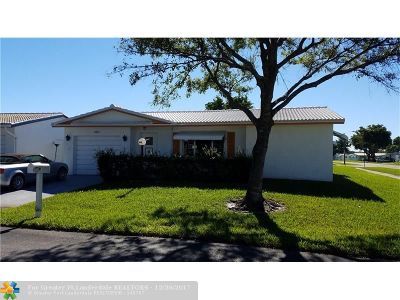Plantation Single Family Home For Sale: 8980 NW 14th St