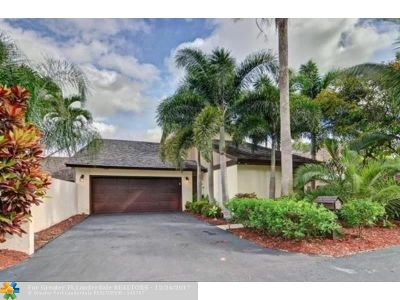 Boca Raton Single Family Home For Sale: 6530 Contempo Lane