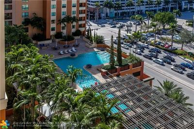 Fort Lauderdale Condo/Townhouse For Sale: 110 N Federal Hwy #1405