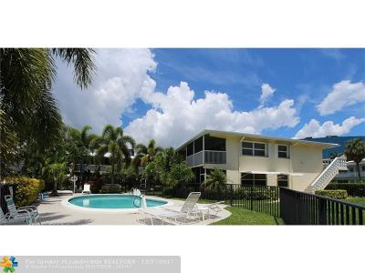 Fort Lauderdale Condo/Townhouse For Sale: 4820 NE 23rd Avenue #205
