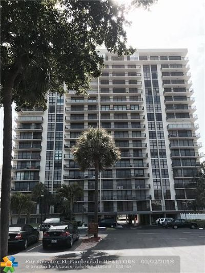 Condo/Townhouse For Sale: 3031 N Ocean Blvd #1708