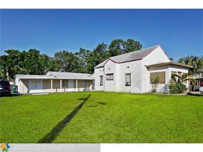 Oakland Park Multi Family Home For Sale: 1041 NE 35th St