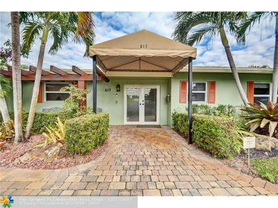 Wilton Manors Single Family Home Backup Contract-Call LA: 617 NW 25th St