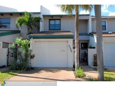 Lauderdale By The Sea Condo/Townhouse For Sale: 4509 Poinciana St #4509