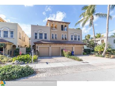 Fort Lauderdale Condo/Townhouse For Sale: 105 NE 13th Ave #105