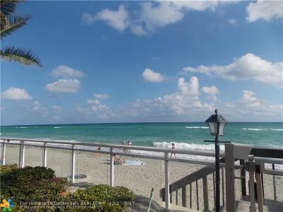 Hollywood Condo/Townhouse For Sale: 3001 S Ocean Dr #727