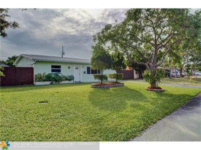 Pompano Beach Single Family Home Backup Contract-Call LA: 810 NE 32nd Ct