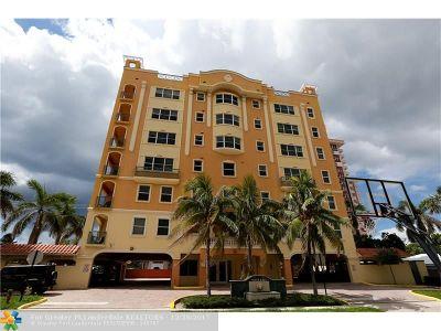 Pompano Beach Condo/Townhouse For Sale: 3236 NE 5th St #502