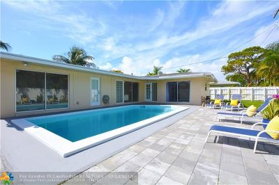 Fort Lauderdale Single Family Home For Sale: 1611 NE 56th St