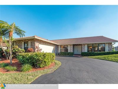Coral Springs Single Family Home For Sale: 11540 NW 20th Dr