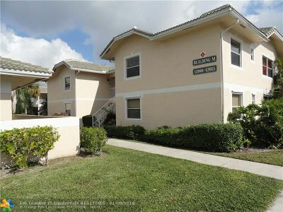 Coral Springs Condo/Townhouse For Sale: 12007 Royal Palm Blvd #12007