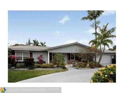 Fort Lauderdale Single Family Home For Sale: 4751 NE 26th Ave