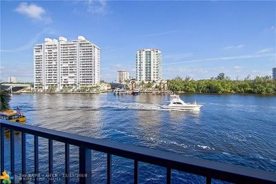 Fort Lauderdale Condo/Townhouse For Sale: 936 Intracoastal Dr #3C