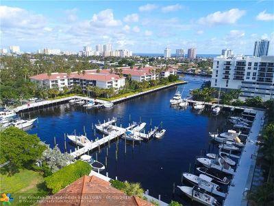 Fort Lauderdale Condo/Townhouse For Sale: 3200 Port Royale Dr #406